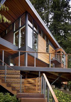 Herron Island Retreat / First Lamp Architecture