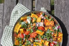 Having a tasty salad in your culinary repertoire will never see you wrong when it comes to making nice things to scoff in the sunshine. GBBO 2014 semi-finalist Chetna Makan has a cracker to share.