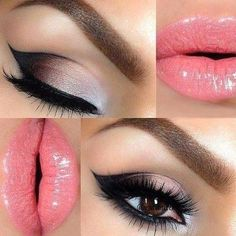 Make up for Brown eyes ❤                                                                                                                                                     More