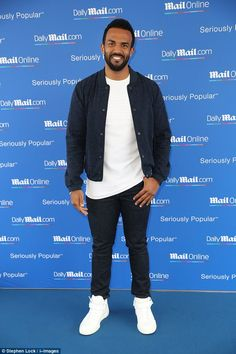 A musical legend: Craig David attended the MailOnline Cannes Lions party on Tuesday and had a gossip about the new X Factor line-up Lion Party, Jonathan Cheban, Craig David, Peter Andre, Pops Concert, Celebrity Singers, Celebrity Big Brother, The Time Is Now, Billy Joel