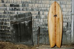 Founded by surfers from York Beach, Maine, Grain Surfboards is a New England company that. Fish Surfboard, Wooden Surfboard, Northern White Cedar, York Beach, Surf Brands, Surf Art, Surf Shop, New England, Maine