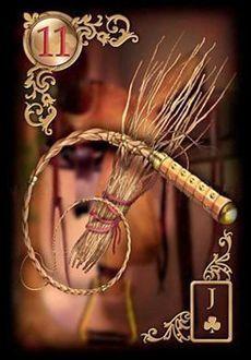Saiba e aprenda mais sobre as combinações das cartas do Baralho Cigano Lenormand e aprofunde seus conhecimentos na carta Chicote.