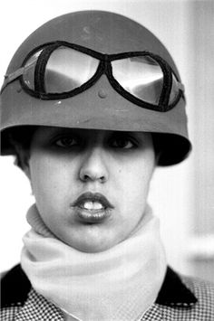 Poly Styrene (July 3, 1957 - April 25, 2011). Punk rock / new wave singer with the band X-Ray Spex