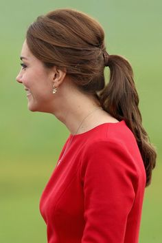 La queue de cheval de Kate Middleton