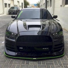 Evil looking Dodge Charger. - Don't mess with auto brokers or sloppy open transporters. Start a life long relationship with your own private exotic enclosed Mk1, Gti Vw, Volkswagen, Dodge Charger Hellcat, Dodge Charger Daytona, Dodge Challenger, Charger Srt8, Srt Hellcat, Us Cars