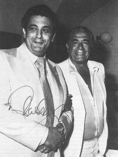 Plácido Domingo y Giuseppe di Stefano