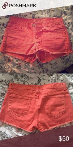 j brand salmon shorts J brand shorts J Brand Shorts Jean Shorts