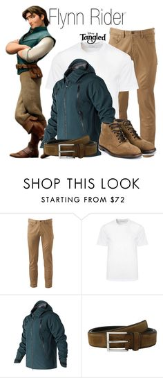 """Flynn Rider"" by ramirez-coimbra ❤ liked on Polyvore featuring Disney, Dockers, Versace, New Balance, To Boot New York, Dolce&Gabbana, men's fashion, menswear, disney and tangled"