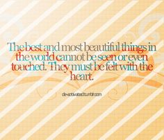 The Best And Most Beautiful Things