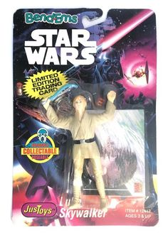 Star Wars: Bend Ems – Luke Skywalker  Topps  Star Wars, Star Wars: Bend Ems www.detoyboys.nl