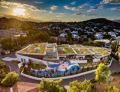 Aerial Photography, Athens, Kindergarten, College, Education, American, University, Kindergartens, Onderwijs