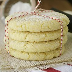 Lemon Olive Oil Cookies omit baking powder, cut flour to 2 cups, add 4 tbsp butter, 1 tbsp honey and some shredded coconut