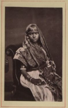 A Hindoo girl of fourteen, Guyana 1870-1931