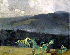 Jan Stanislawski, Mountainous Landscape on ArtStack #jan-stanislawski #art