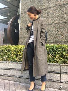 完全保存版♡ママなのにママに見えないコーデのコツ - LOCARI(ロカリ) Duster Coat, Normcore, Clothes For Women, Women's Clothing, Jackets, Style, Fashion, Outfit, Outerwear Women