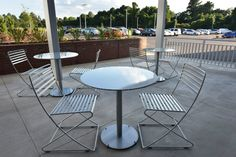 Fred Anderson Nissan of Fayetteville customer lounge outdoor