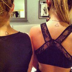 Mine and Siana's Triangle Tattoos