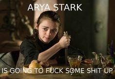 Game of Thrones. Arya Stark.