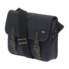 Jack Spade Saddle Messenger Bag ($209) ❤ liked on Polyvore