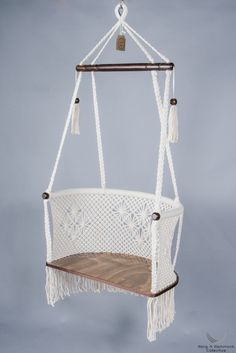 Hanging Chair in Macrame