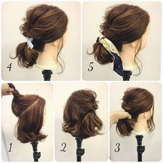 Scarf ponytail | 松山