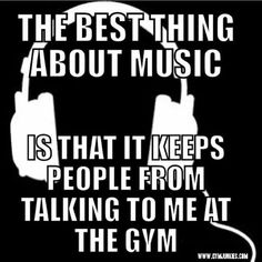 No, no it doesn't. I'll still get bothered at golds with my music going...