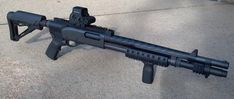 Tactical/Home Defense Remington Mesa Tactical and other upgrades Mesa Tactical, Tactical Shotgun, Tactical Gear, Home Defense, 870 Express Tactical, Guns Dont Kill People, Night Sights, Cool Guns, Airsoft Guns