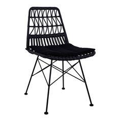 Μεταλλική Καρέκλα – BB 18 Outdoor Chairs, Outdoor Furniture, Outdoor Decor, Wicker, Appointments, Home Decor, Bb, Products, Decoration Home