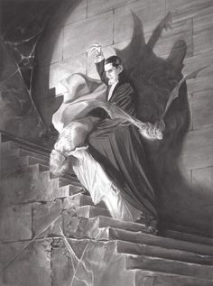 Universal Classic Monsters Art : Dracula 1931 by Alex Ross.