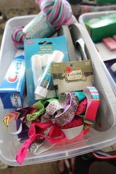 Packing shoe boxes for children can be a lot of fun and is a great ...