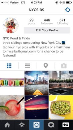 follow nycsibs on Instagram for great pictures of nyc foods + scenes