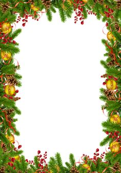Transparent Christmas Photo Frame with Pine Cones Christmas Border, Christmas Background, Christmas Design, Christmas Shows, Christmas Frames, Christmas Tree, Xmas Photos, Christmas Pictures, Christmas Clipart