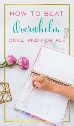 Does anyone else feel constantly overwhelmed? There's always way too much to do, and I constantly feel like I'm failing at everything. I LOVED this blog post! I finally felt like there were some real solutions to my problem, and a strategy that I can keep using to feel less overwhelmed moving forward. | tips on handling stress for moms