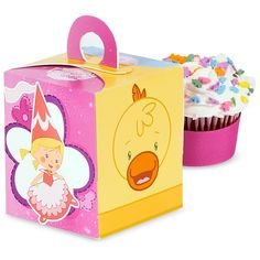 Chloe's Closet Cupcake Boxes, 87958 via Birthday Express