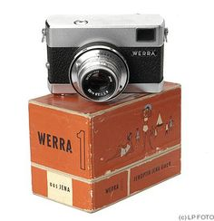 """""""Vintage Werra 35mm Rangefinder Camera Carl Zeiss Germany USSR Zone with the Original Tessar 2.8 50mm Lens. It is marked Made in Germany USSR Zone which dates it to just after World War II"""