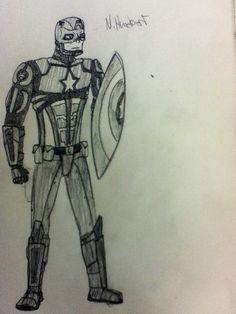 Captain America WW III concept. More armour = more epicness!