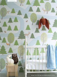 babykamer muurdecoratie via Kinderkamerstylist.nl
