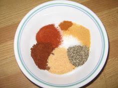 ... and Dressing on Pinterest | Chicken Rub, Spices and Steak Dry Rubs