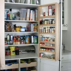 Great compact pantry!