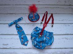 Baby Boy / Toddler Party Hat Necktie Suspenders & by callyfindlay, $57.85