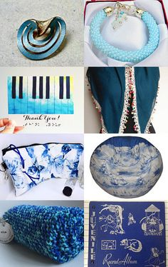 I See Blue by Susan Kennedy on Etsy--Pinned with TreasuryPin.com