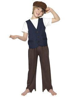 74c656b4b3539  Child victorian oliver twist  fancy dress  costumes book week kids boys  outfit