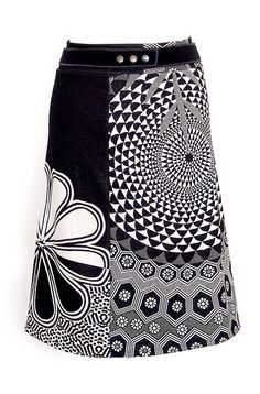 Kesidov -Notability skirt -  Skirt made of fuller cotton knitwear with elastane. With adjustable belt at the waist. Length about 61 cm.  37.00 €