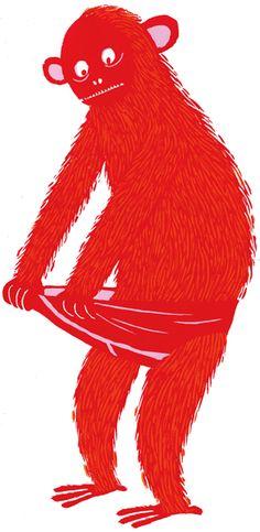 monkey pants - Katherina Manolessou