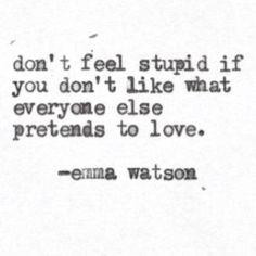 Pretends to love