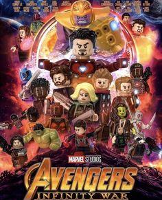 LEGO Avengers: Infinity War [Artist – _Azork _on IG] – Jewelry & Praktische Ideen & lego & Dekoration Lego Marvel's Avengers, Lego Batman, Lego Ironman, Lego Marvel Superheroes 2, Minifigura Lego, Legos, Marvel Heroes, Lego War, Captain Marvel