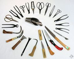 All the bonsai tools you could possibly need