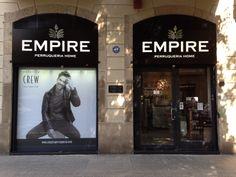Rotulo corpóreo en Barcelona peluquería empire