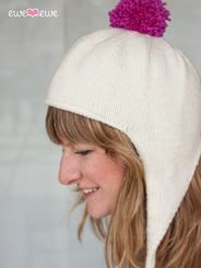 Ewe Ewe Cross Country Ski Cap PDF Knitting Pattern