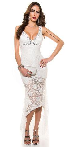 Comprar vestido de noche blanco